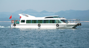 20m FRP High Speed 70 persons Ferry Boat Ship for sale