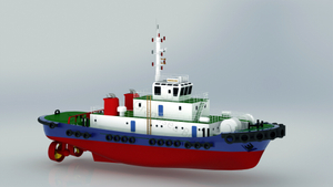 Grandsea Length 40m Ocean Going 4000hp ASD Tugboat for Sale