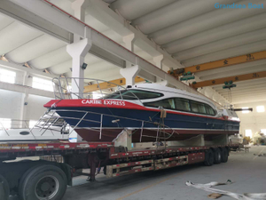 45 seats/passengers aluminum speed passenger ferry jet boats for sale