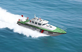 Grandsea 21m Aluminum High Speed Patrol And Coast Guard Boat