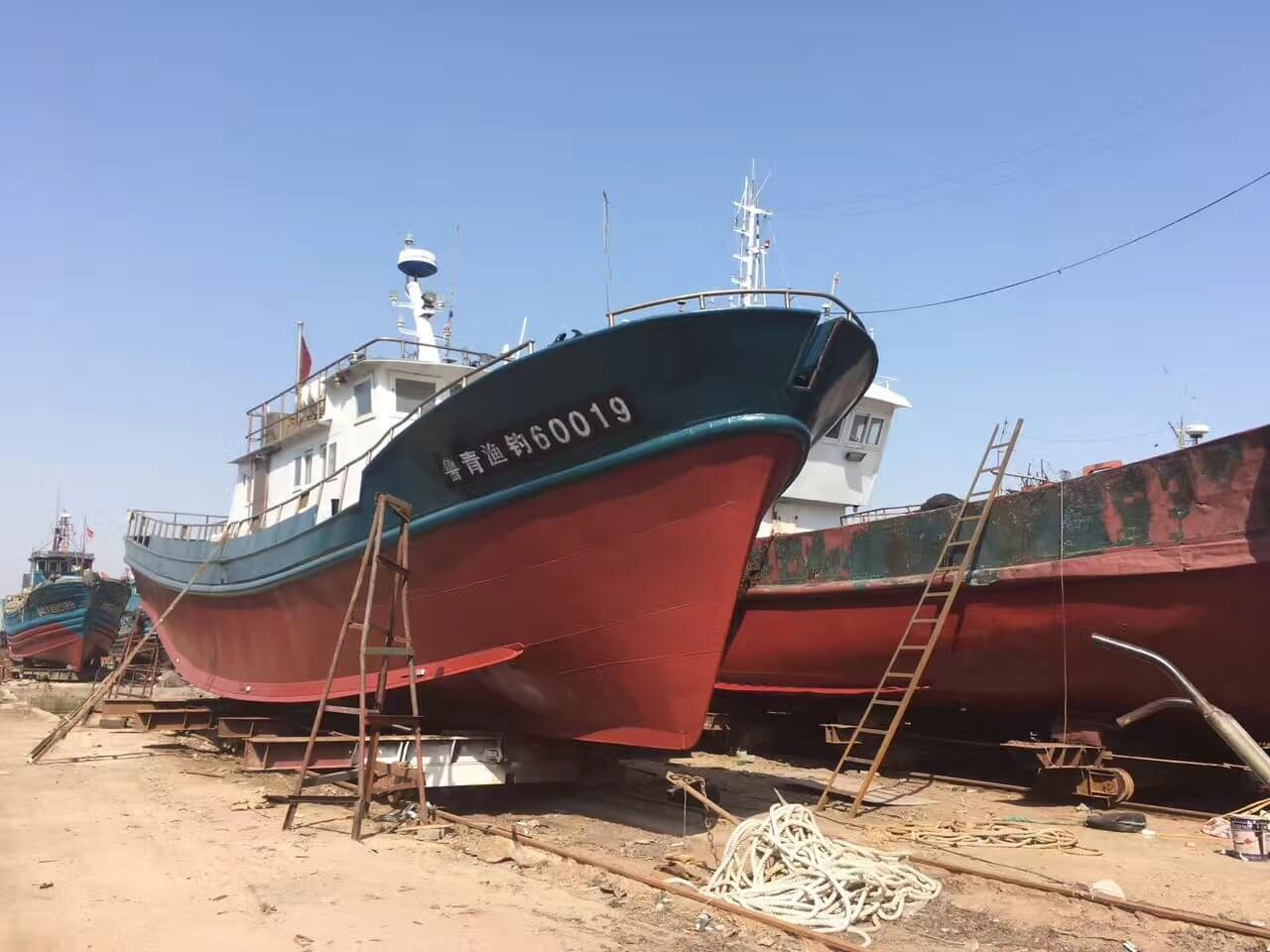 31.8m Commerical Fiberglass Pelagic Trawler And Purse Seine Fishing Boats for Sale