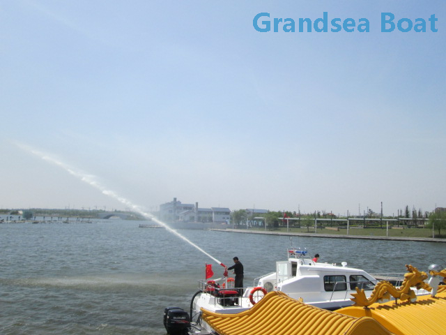12m Fiberglass Speed Fire-fighting/rescue Boats for Sales