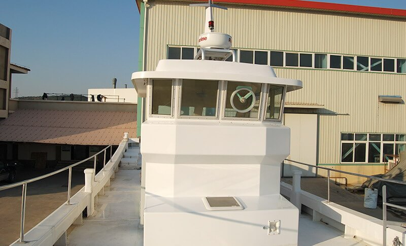 Grandsea 17m Fiberglass Longliner Commercial Fishing Boat for Sale