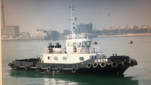 Grandsea 24m 900hp Shipyard Build Multi Purpose Work ASD Tugboat for Sale