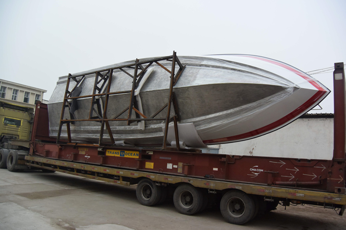 11.6m Aluminum 30persons High Speed Water Taxi Boat for sale
