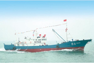 150ft/45m Steel Ocean Stern Trawler Fishing Ship with Freezer for Sale