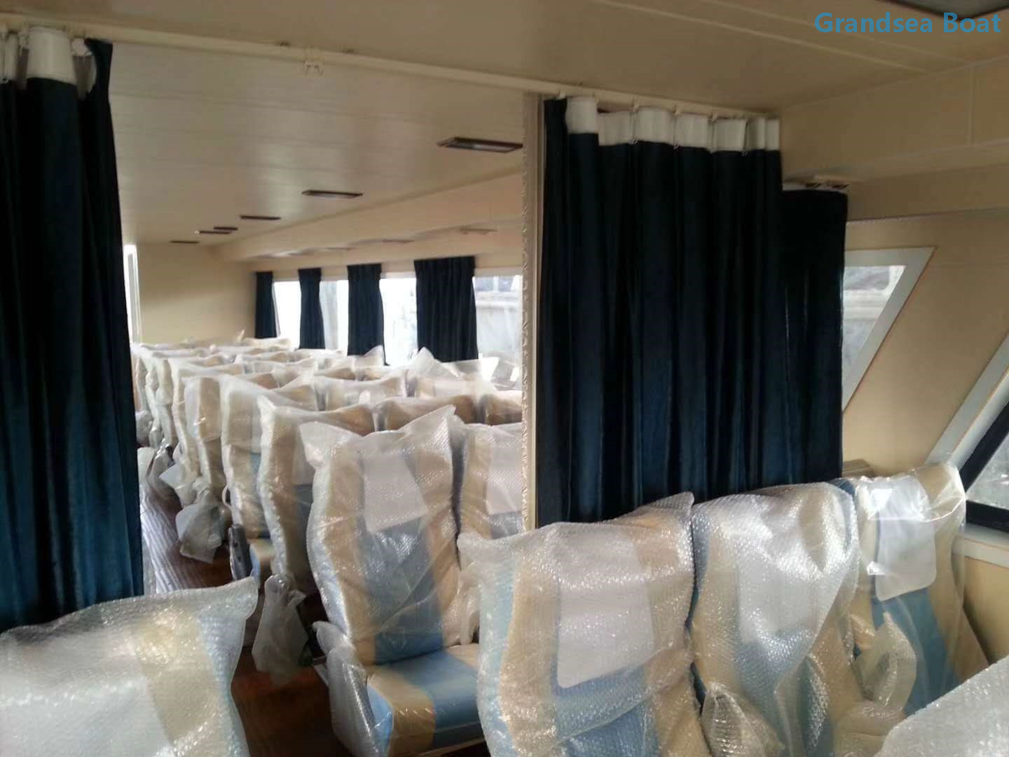Second Hand 70 Persons Fiberglass Ferry Crew Boat for Sale