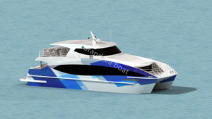 Grandsea 100 Passenger Aluminum Catamaran Ferry/passenger/high Speed Boat/ship for Sale