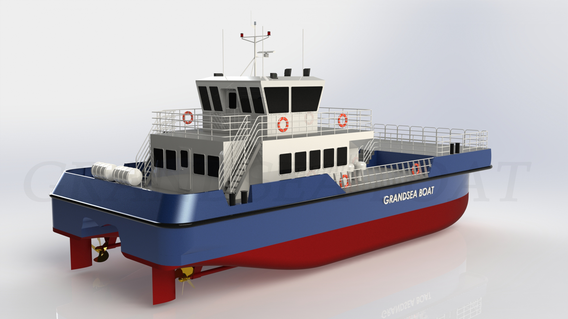 24m Aluminum Catamaran Offshore Wind Farm Support/supply/work Boat/ship/vessel for Sale