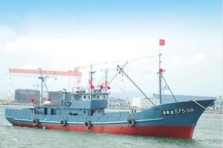 110ft/34m Steel Deep Sea Stern Trawler Fishing Ship with Freezer for Sale