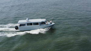 Grandsea 40ft Fiberglass Diving Boat For Sale