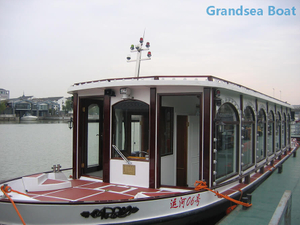 17.6m steel passenger ferry water taxi boat for sale