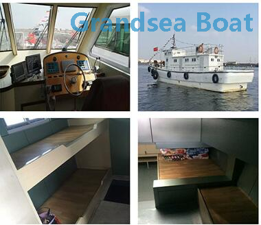 21.3m FRP Commercial Tuna Longline Fishing Boat for Sale