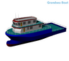 26m Deep Sea Steel Commercial Trawler Fishing Boat for Sale