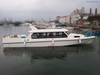 16.8m 40 persons fiberglass passenger crew boats for sale