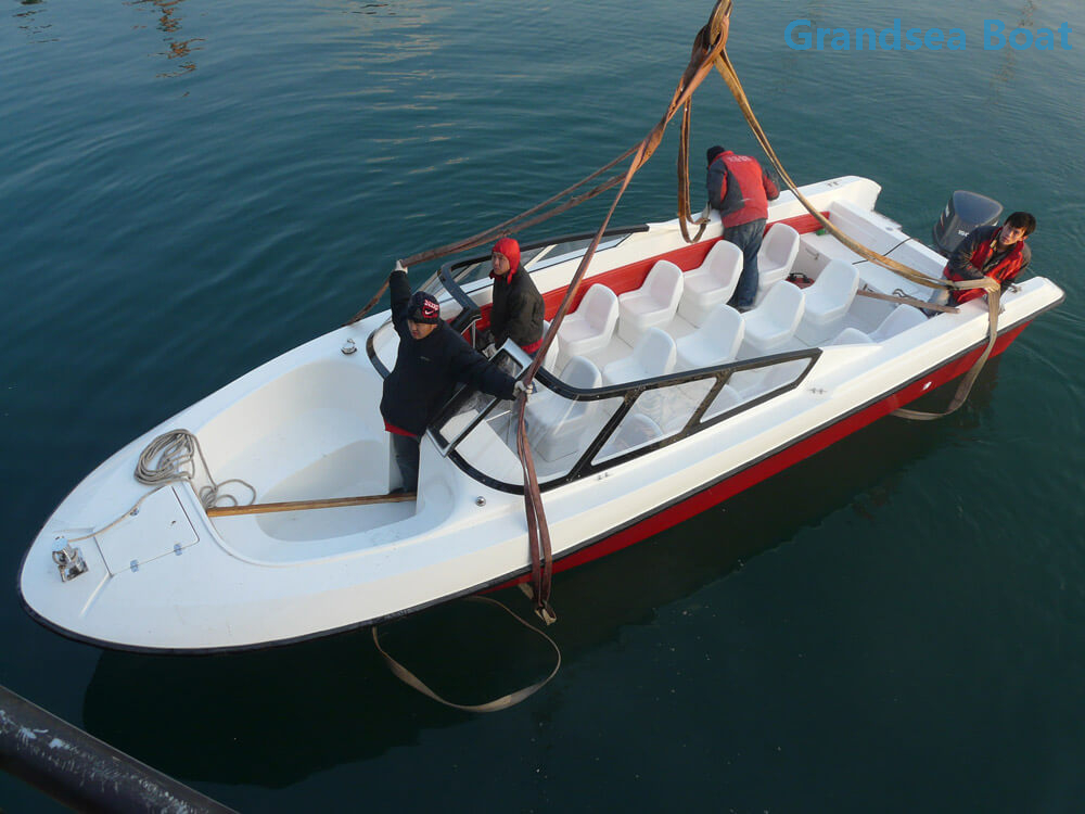 29ft Fiberglass High Speed Tourist Motor Boats for Sale