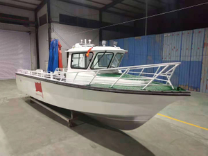 32ft Aluminum Sea Farming Use Aquaculture Work Boat for Sale