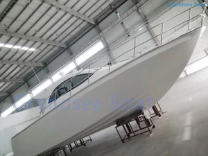 35ft Fiberglss Catamaran Cabin Fishing Boat for Sale