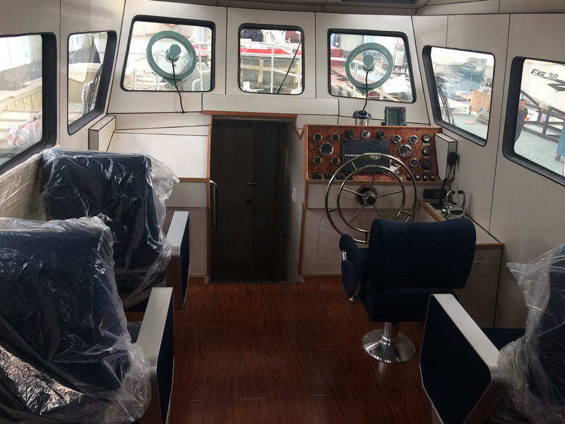Grandsea Boat 13m/43ft Aluminium High Speed Police Patrol Boat for Sale