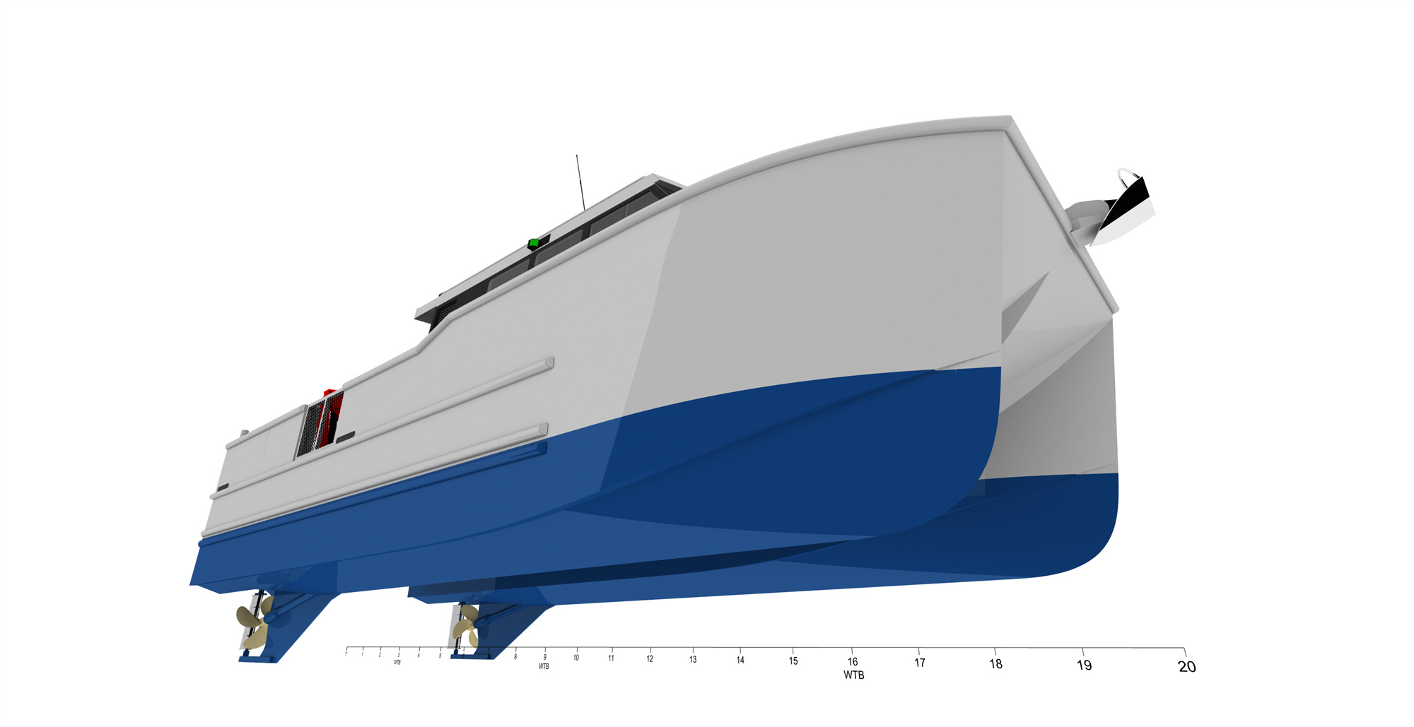 12m Aluminum Catamaran Work And Utility Boats for Sale