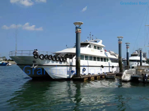 27m 74seats Used Fiberglass Catamaran Passenger Ferry Boat for Sale