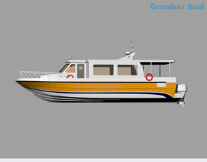 30seats Fiberglass Speed Passenger Boat For Sale